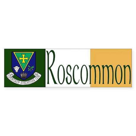 County Roscommon Bumper Bumper Sticker By Irishcountry