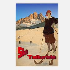 Vintage Ski Telluride Postcards (Package of 8)