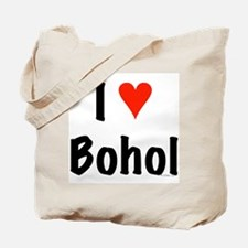 I love Bohol Tote Bag