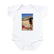 Ski Jackson Hole Infant Bodysuit