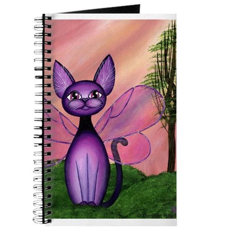 """Annette"" Cat Fairy Journal"