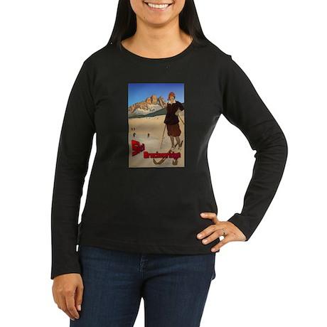 Ski Breckenridge Women's Long Sleeve Dark T-Shirt