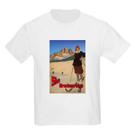 Ski Breckenridge Kids Light T-Shirt