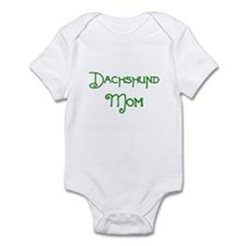 Dachshund Mom 2 Infant Bodysuit