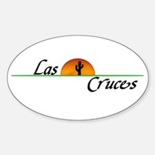 Las Cruces Sunset Oval Decal