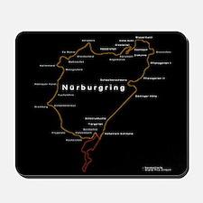 Nurburgring Map - Mousepad