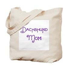 Dachshund Mom 5 Tote Bag
