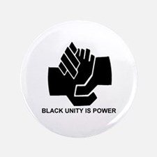 "Black Unity is Power 3.5"" Button"