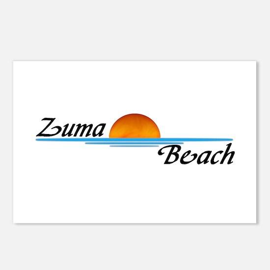 Zuma Beach Sunset Postcards (Package of 8)