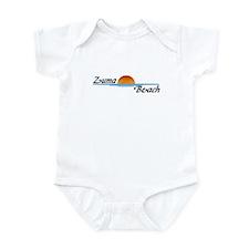 Zuma Beach Sunset Infant Bodysuit