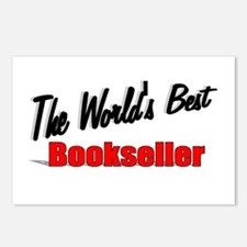 """""""The World's Best Bookseller"""" Postcards (Package o"""