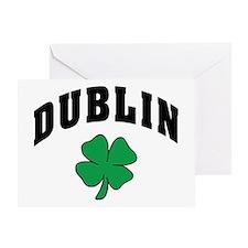 Dublin Ireland Greeting Card