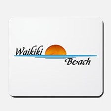 Waikiki Beach Sunset Mousepad