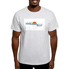 Waikiki Beach Sunset T-Shirt