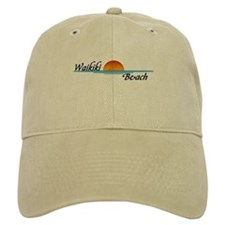 Waikiki Beach Sunset Baseball Cap