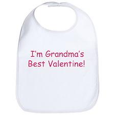 Grandma's Best Valentine Bib