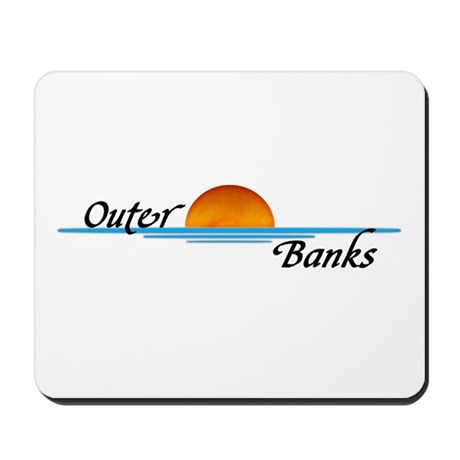 Outer Banks Sunset Mousepad