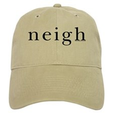 Neigh. Horse language. Baseball Cap