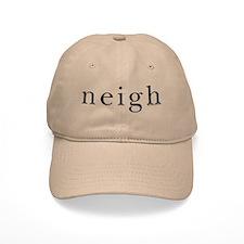 Neigh. Horse language. Cap