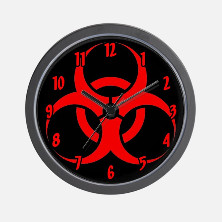 Biohazard Wall Clock