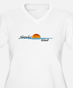 Nantucket Island Sunset T-Shirt