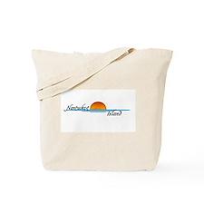 Nantucket Island Sunset Tote Bag