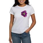 Lavender Eye Daylily Women's T-Shirt