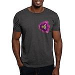 Lavender Eye Daylily Dark T-Shirt