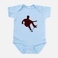 BOARDER IN BLACK Infant Bodysuit