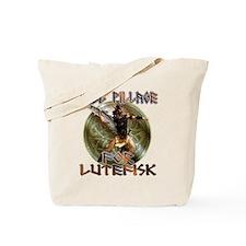 Lutefisk Scandinavian humor Tote Bag