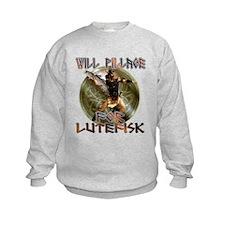 Lutefisk Scandinavian humor Sweatshirt