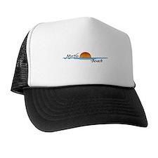 Myrtle Beach Sunset Trucker Hat