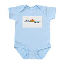 Myrtle Beach Sunset Infant Bodysuit