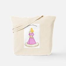 Blonde Prima Donna in Pink Robe Tote Bag