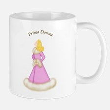 Blond Prima Donna in Pink Robe Mug