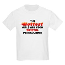 Hot Girls: Bristol, PA T-Shirt