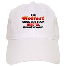Hot Girls: Bristol, PA Baseball Cap