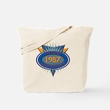 1987 Tote Bag