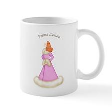 Redhead Prima Donna in Pink Robe Mug