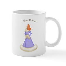 Redhead Prima Donna in Violet Robe Mug