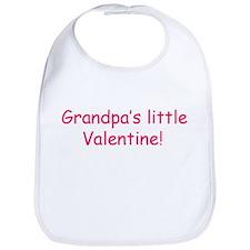 Grandpa's Little Valentine Bib