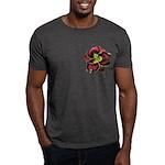 Dark Purple Daylily Dark T-Shirt
