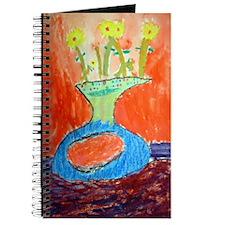 Flowers in Vase II Journal