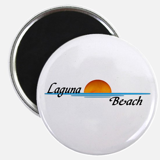 "Laguna Beach Sunset 2.25"" Magnet (10 pack)"