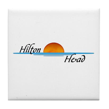 Hilton Head Sunset Tile Coaster