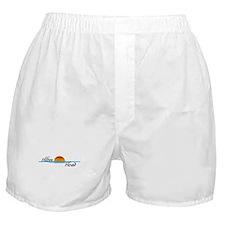 Hilton Head Sunset Boxer Shorts