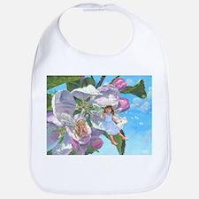Apple Blossom Faeries Bib