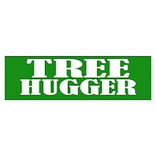 TREE HUGGER Bumper Bumper Stickers