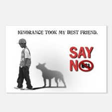 Ignorance took my best friend Postcards (Package o
