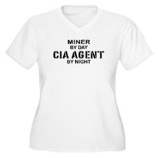 Miner CIA Agent T-Shirt